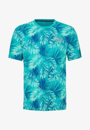 ALLOVER PALM - T-Shirt print - green palm leaf