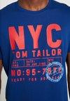 TOM TAILOR - Print T-shirt - after dark blue