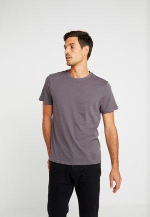 CREW NECK 2 PACK - Jednoduché triko - tarmac grey