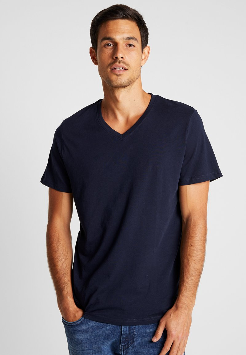 TOM TAILOR - 2 PACK - T-Shirt basic - sky captain blue