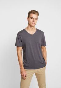 TOM TAILOR - 2 PACK - T-shirt basique - tarmac grey - 3