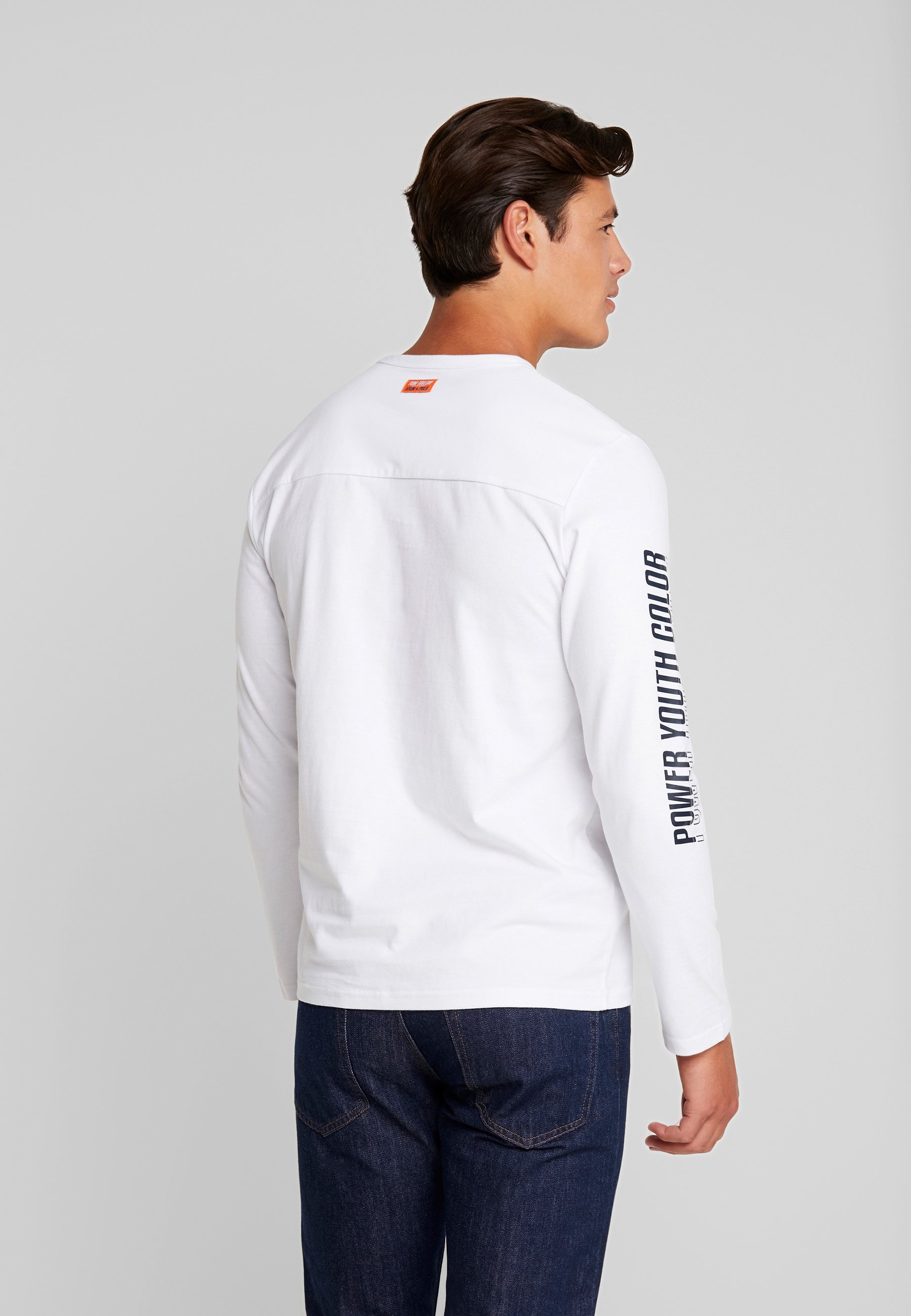 Tom shirt À Tailor Manches Longues LongsleeveT White 08mNnw