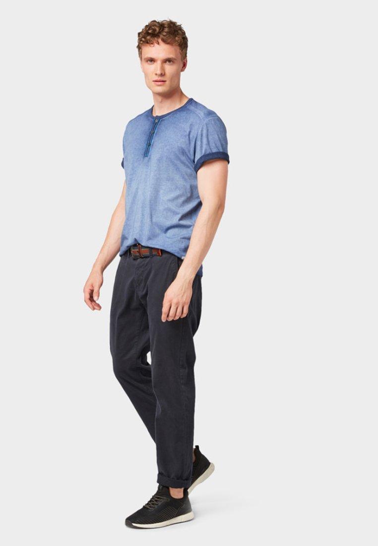 shirt T BasiqueTrue Blue Tailor Dark Tom rQCstdxh