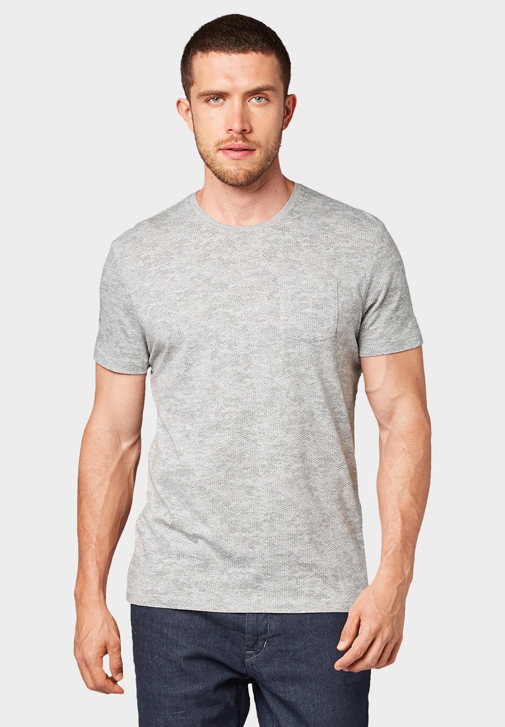 Imprimé Printed Tailor TeeT Allover Tom Gray shirt qpMSVUz