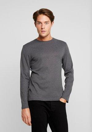 BASIC LONGSLEEVE - Camiseta de manga larga - mid grey melange
