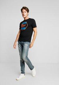 TOM TAILOR - T-shirt print - black - 1