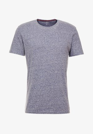 BASIC WINTER - T-shirt basique - real navy/snow melange