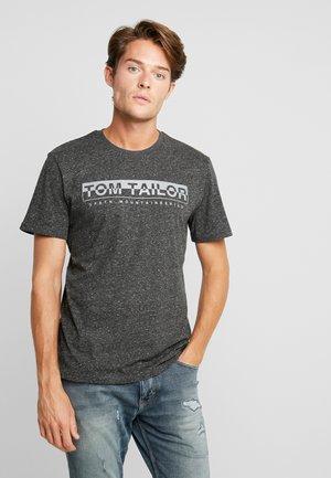 T-shirt z nadrukiem - magnet heather melange