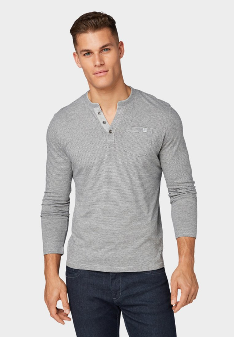 TOM TAILOR - Long sleeved top - grey
