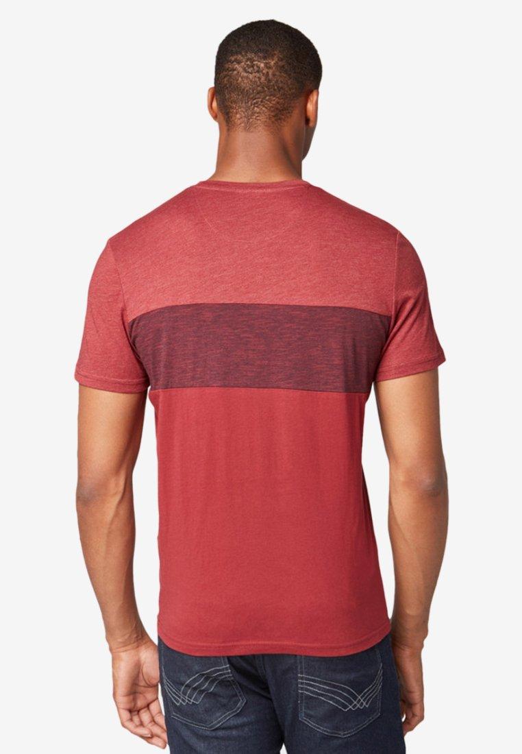 shirt Muster Mit Tailor Tom Red mixT Imprimé vNnO80mw