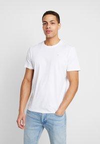 TOM TAILOR - 2 PACK - T-shirt z nadrukiem - real navy blue - 1