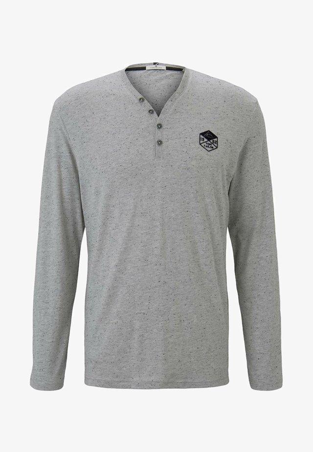 Pitkähihainen paita - nep light grey melange