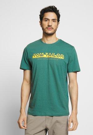 Print T-shirt - ever green
