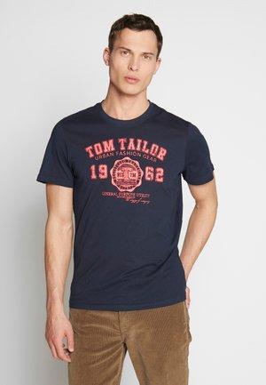 LOGO TEE - T-shirt print - sky captain blue