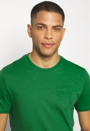 WITH POCKET - Basic T-shirt - jolly green