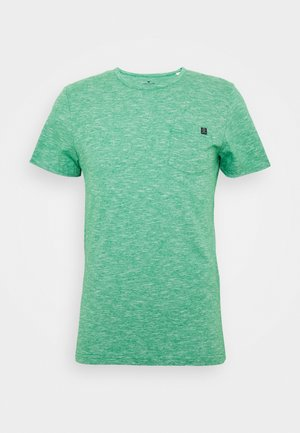 WITH CHEST POCKET - T-shirt basic - green