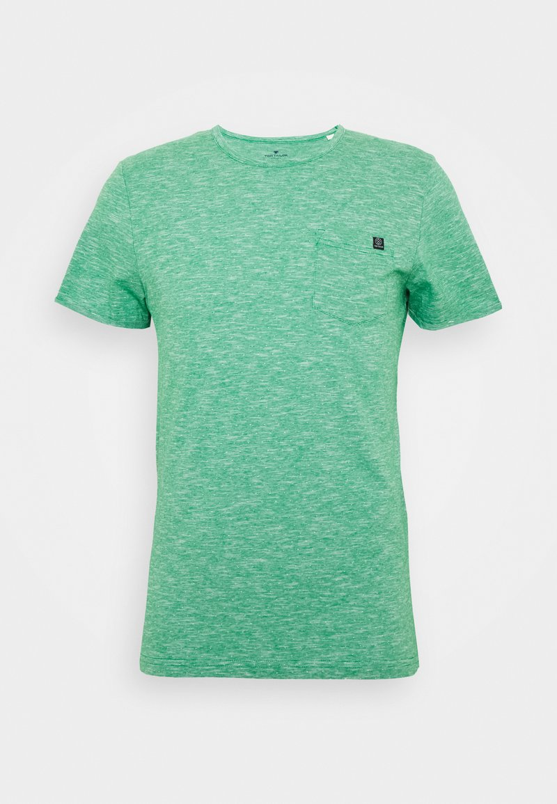 TOM TAILOR - WITH CHEST POCKET - Basic T-shirt - green
