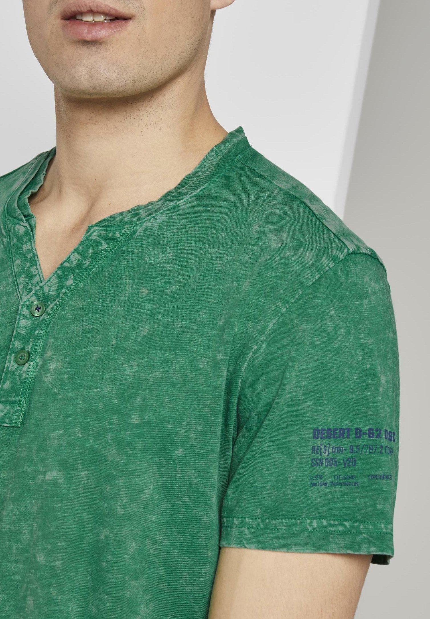 Tom Tailor T-shirt Con Stampa - Jolly Green lLdtf