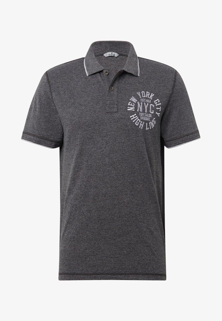 TOM TAILOR - Poloshirt - dark grey