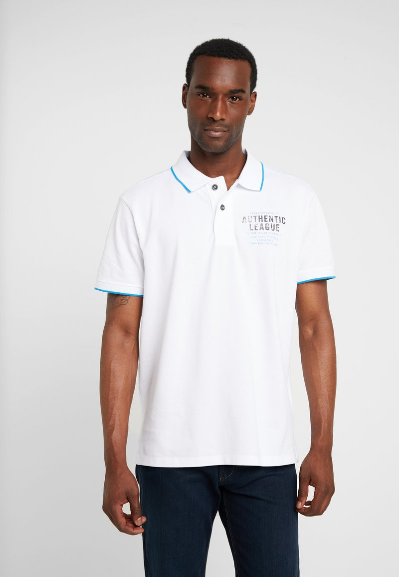 TOM TAILOR - Poloshirt - white