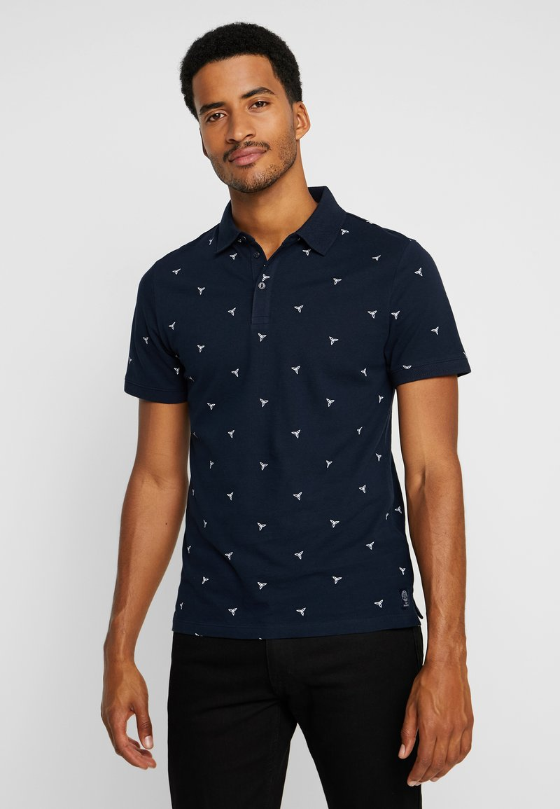 TOM TAILOR - Poloshirt - dark blue