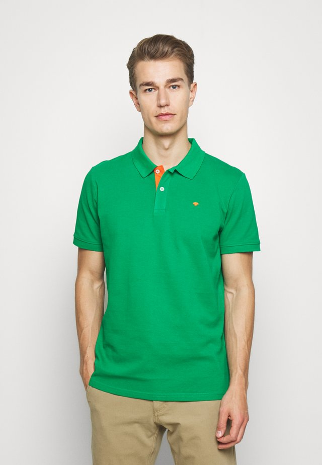 BASIC WITH CONTRAST - Polo shirt - jolly green