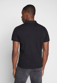 TOM TAILOR - BASIC WITH CONTRAST - Polo shirt - black - 2