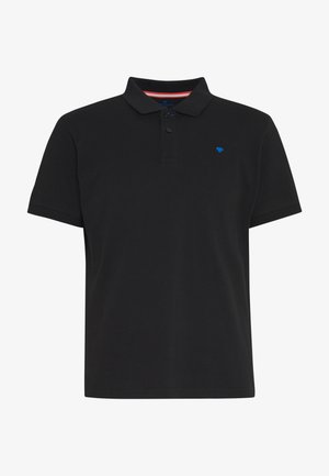 BASIC WITH CONTRAST - Polo - black