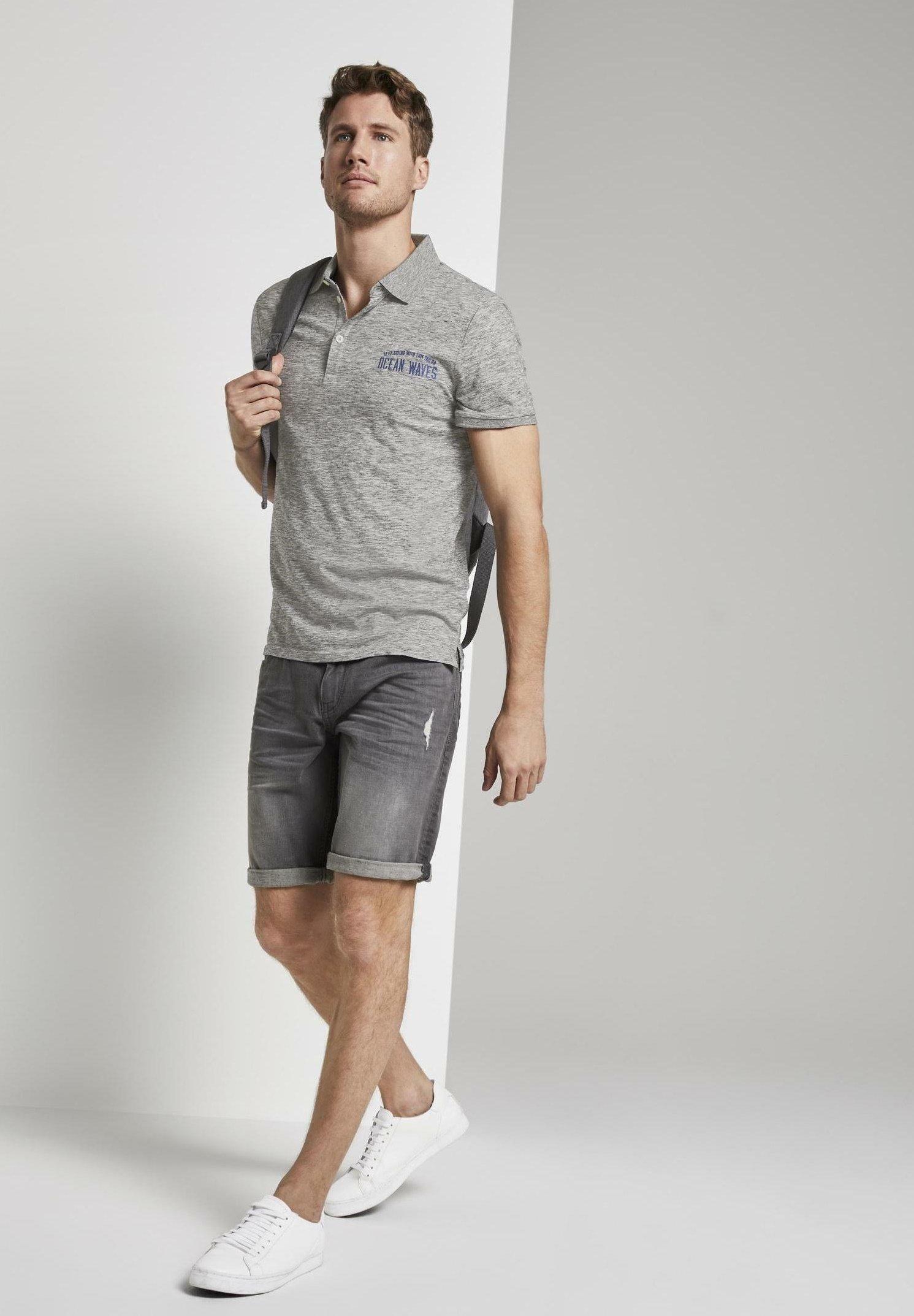 Große Förderung TOM TAILOR Poloshirt - grey coloured melange | Damenbekleidung 2020