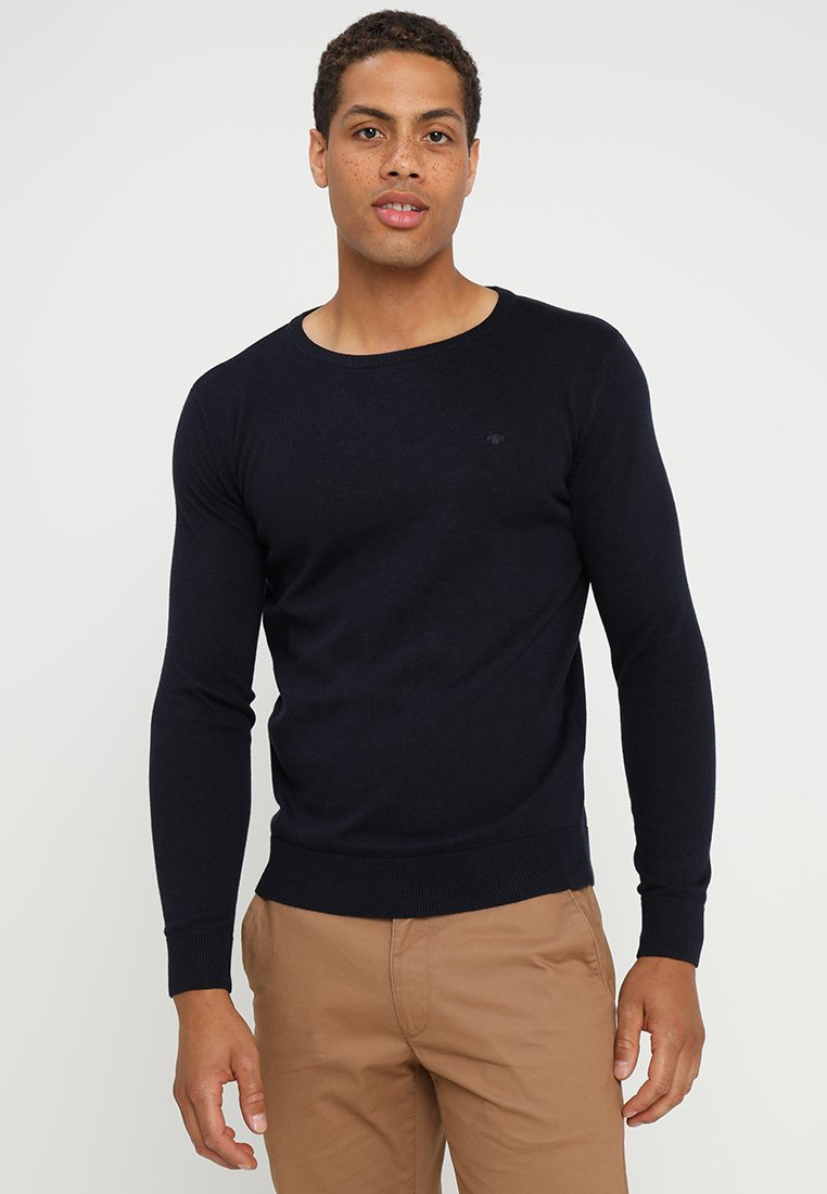 TOM TAILOR - CREW NECK - Jersey de punto - navy eclipse