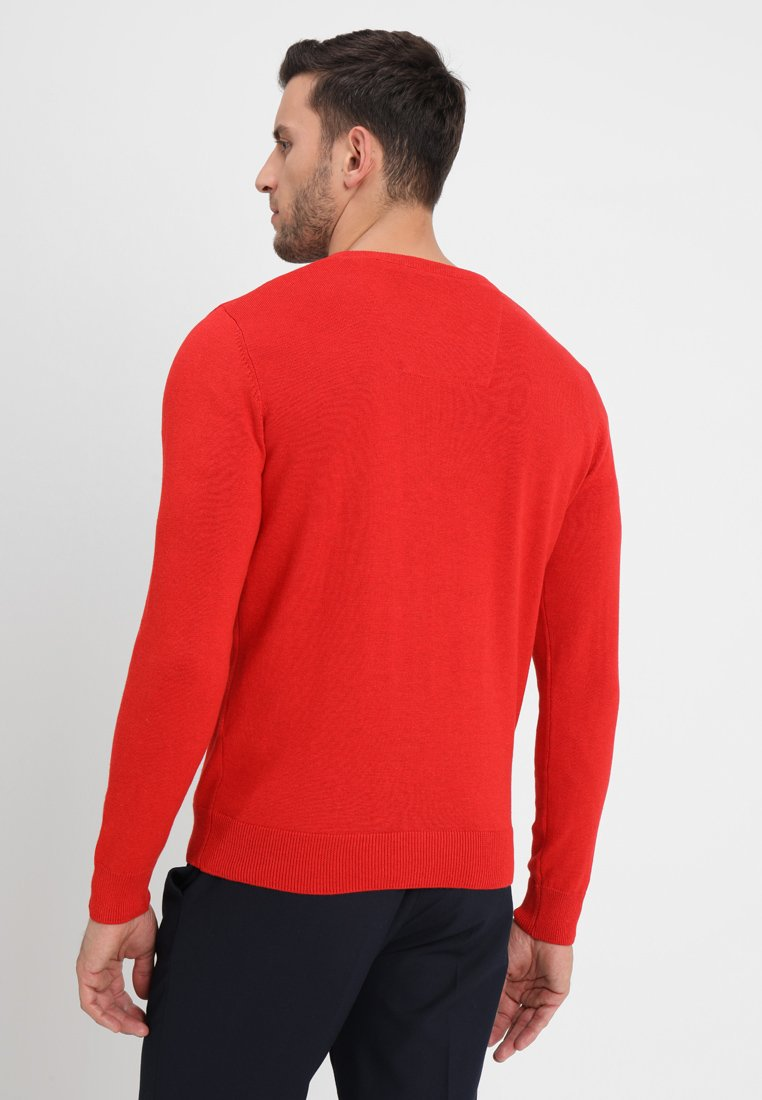 Tailor Tom Tailor Tom Melange Red PulloverTibet 0wOZNP8nkX