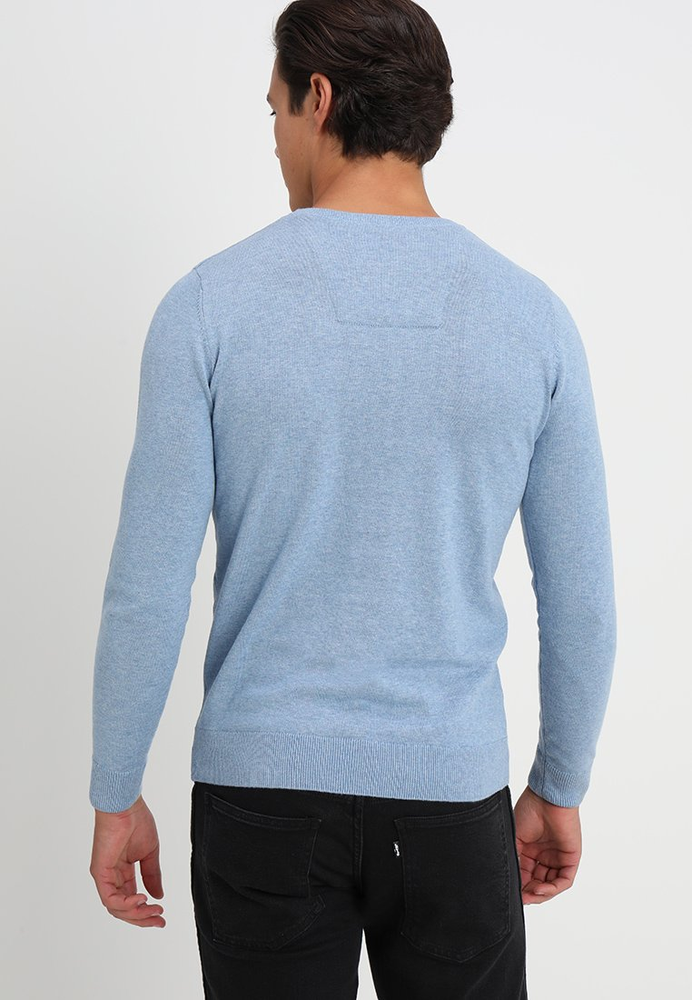 Heaven StylePullover Melange Basic Tom Tailor Modern Blue Clouds USzMpqV
