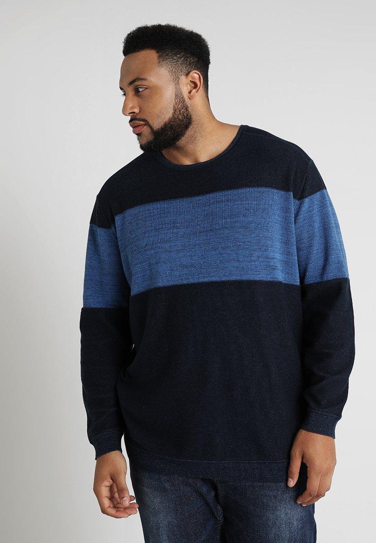 TOM TAILOR - MODERN BASIC  - Strikkegenser - navy blue