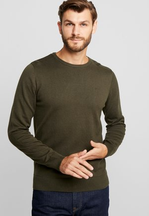 Jumper - dark olive green