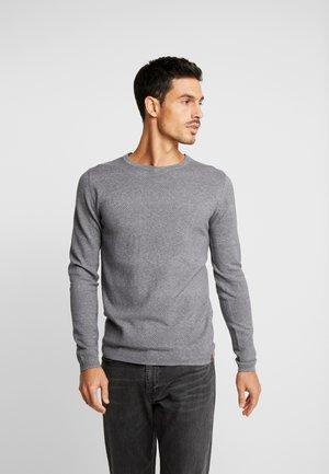 STRUCTURED STRIPED - Jumper - grey