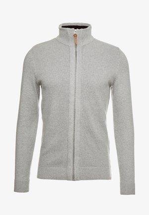 MODERN BASIC STRUCTURED JACKET - Cardigan - grey heather melange
