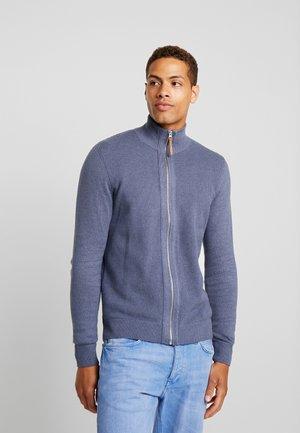 MODERN BASIC STRUCTURED JACKET - Vest - vintage indigo blue melange