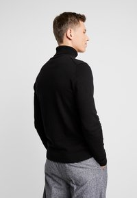 TOM TAILOR - TURTLE NECK - Pullover - black - 2