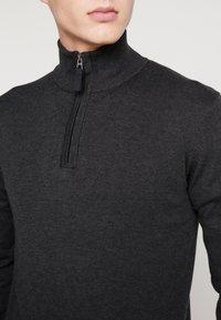TOM TAILOR - FINE STRIPED  - Jersey de punto - grey - 4