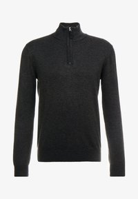 TOM TAILOR - FINE STRIPED  - Jersey de punto - grey - 3