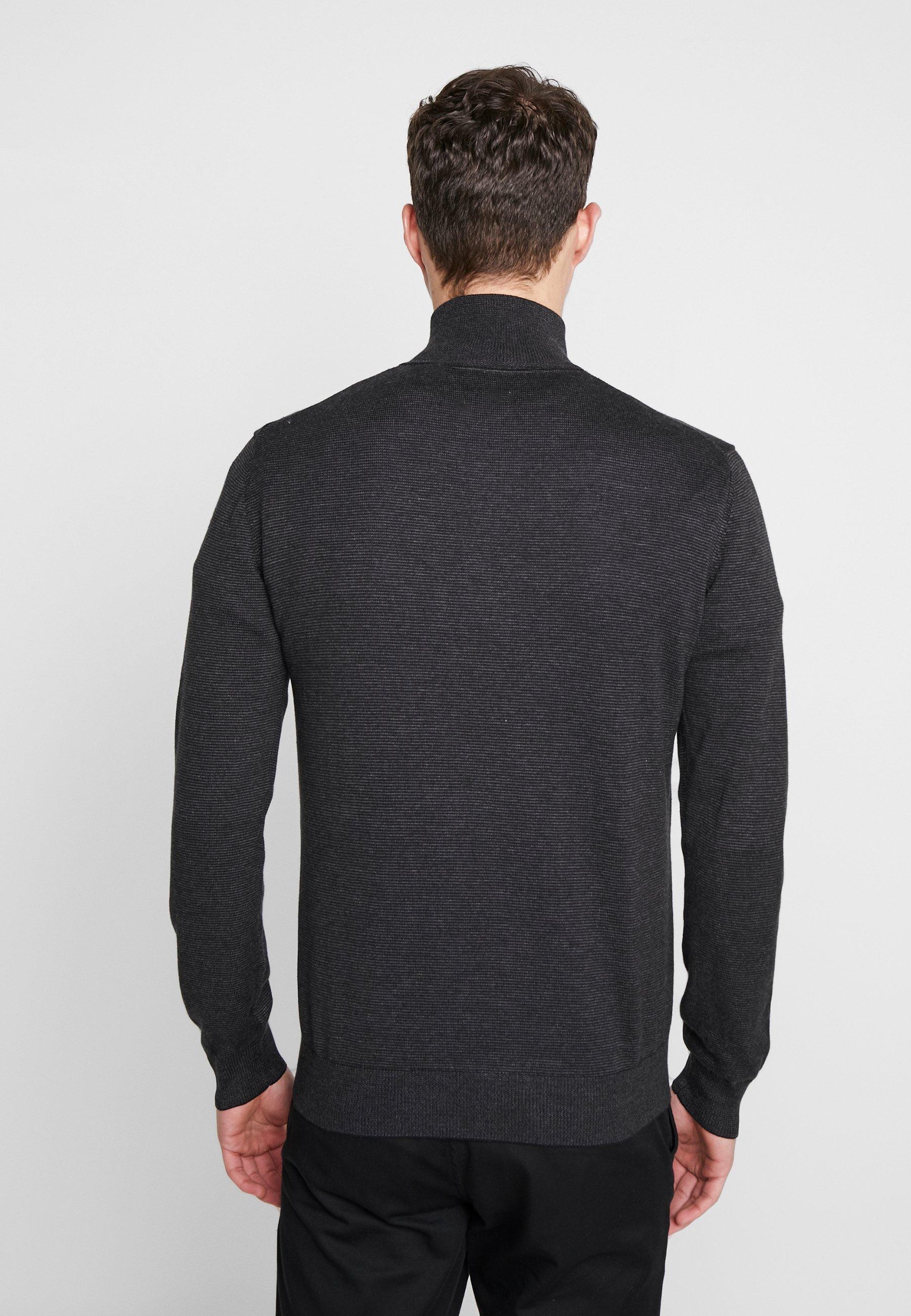 Tom Tailor Fine Striped - Trui Grey