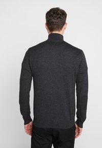 TOM TAILOR - FINE STRIPED  - Jersey de punto - grey - 2