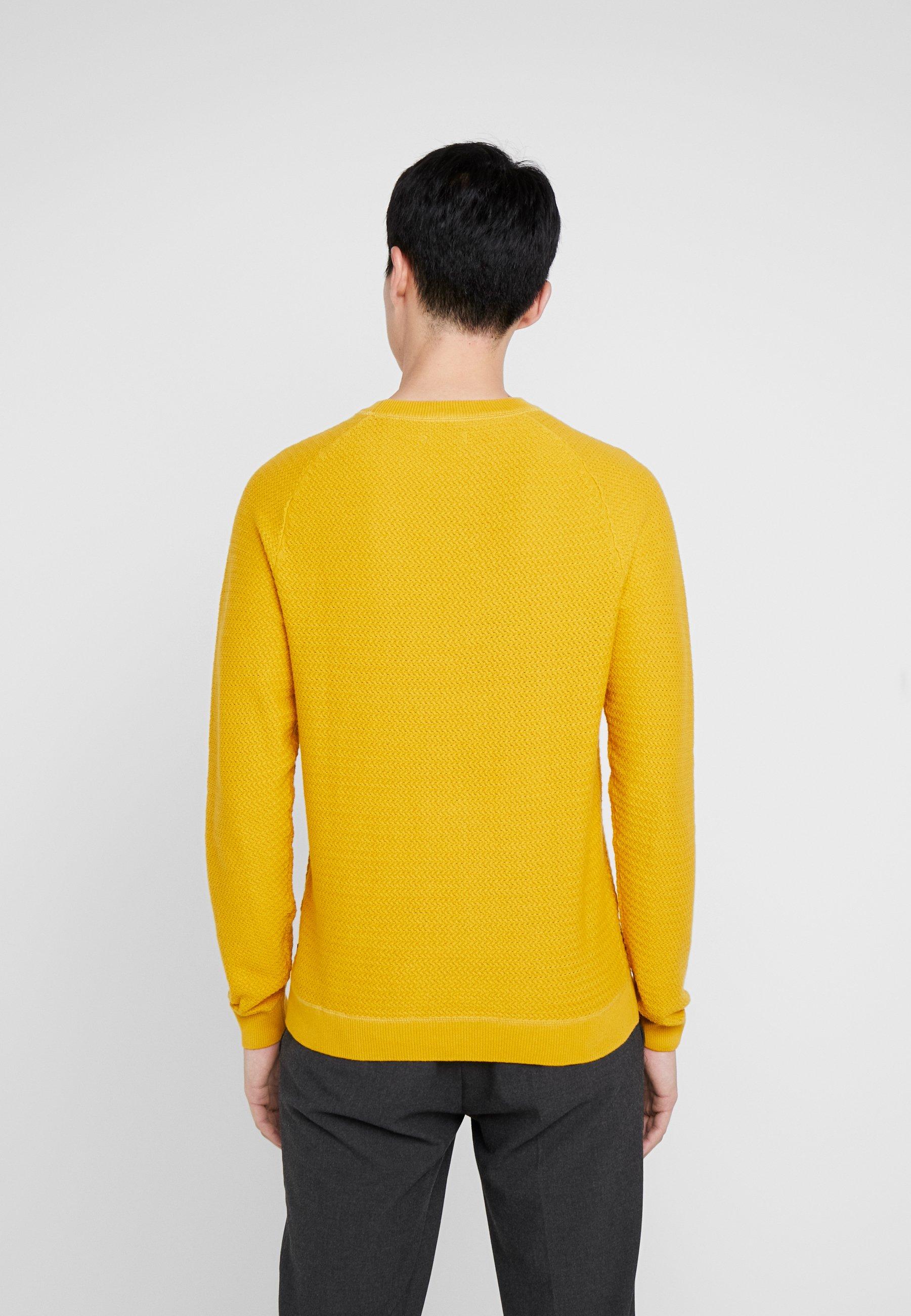 Tom Tailor Modern - Stickad Tröja Golden Nugget Yellow