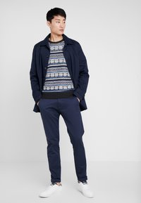 TOM TAILOR - JACQUARD - Jumper - anthracite/grey - 1