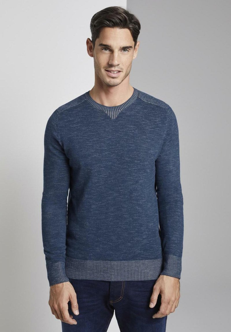 TOM TAILOR - Pullover - dark blue