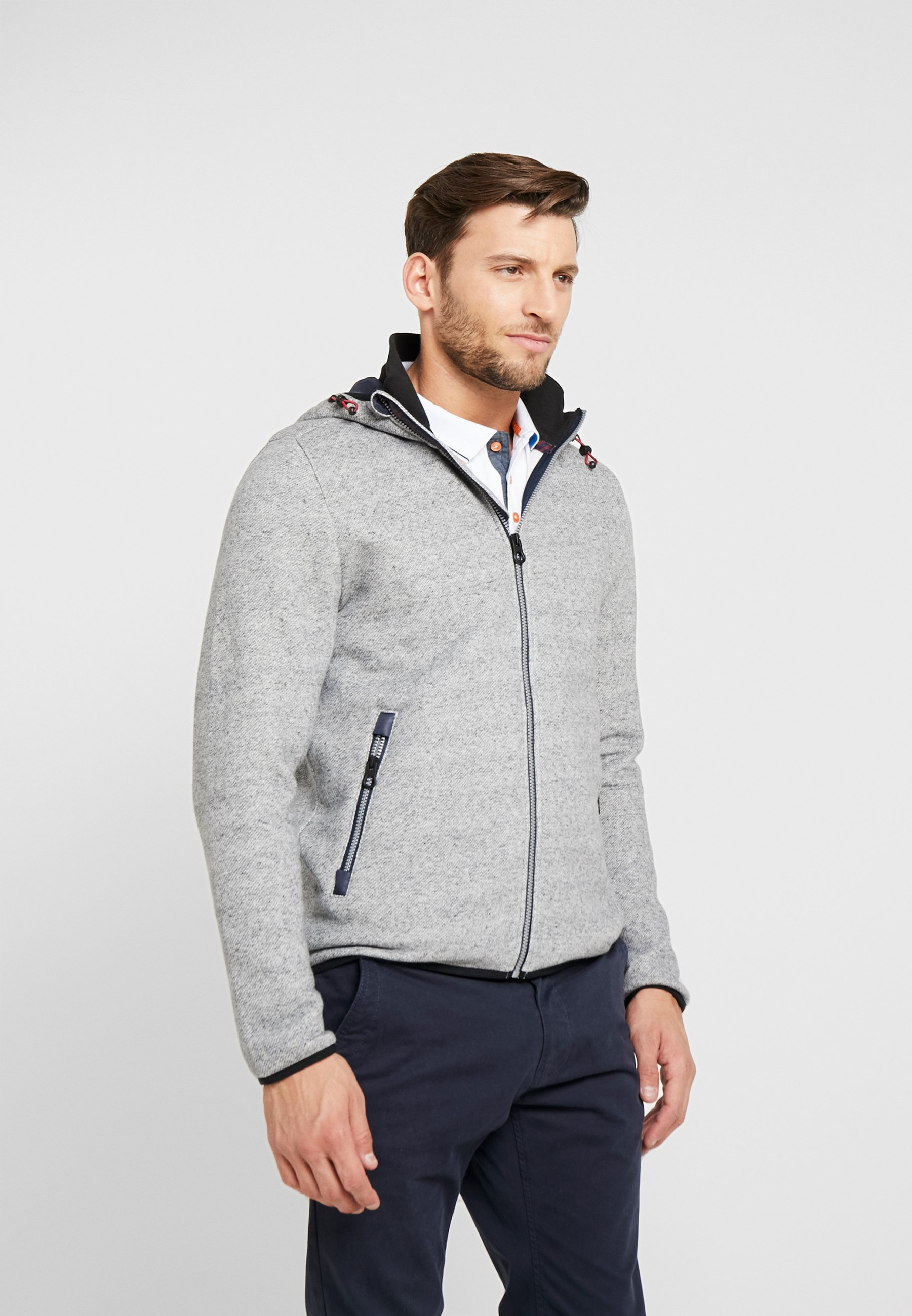 Sweat Tom Blue Zippée Tailor Technical Melange HybridVeste En Grindle dCsxtQhr
