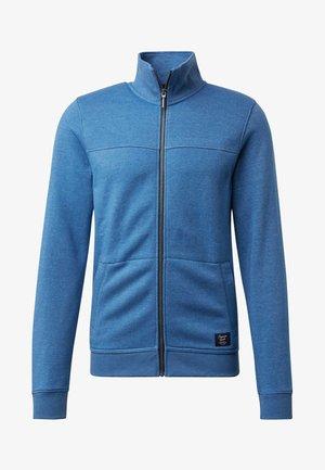 MIT STEHKRAGEN - veste en sweat zippée - night blue