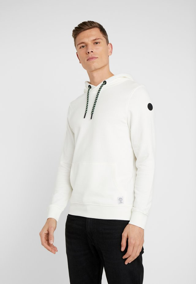 SPORTY BASIC HOODIE - Jersey con capucha - off white