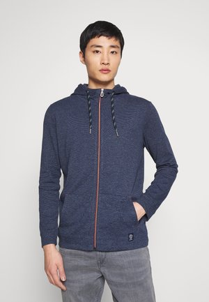 EASY JERSEY JACKET - Zip-up hoodie - blue