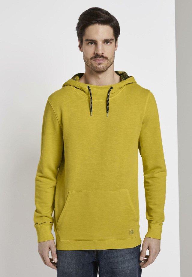 Jersey con capucha - californian yellow